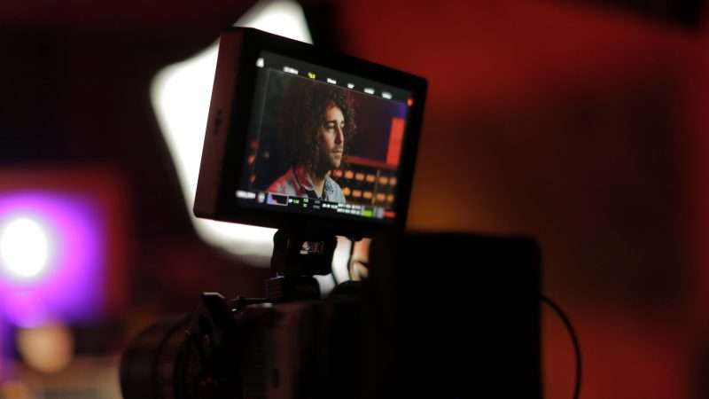Promotional video behind the scenes