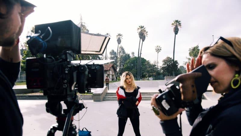 On location Los Angeles